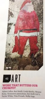 Ctrl V's excellent paste up of Sweaty Santa sparked interest with the AXN Cult crew
