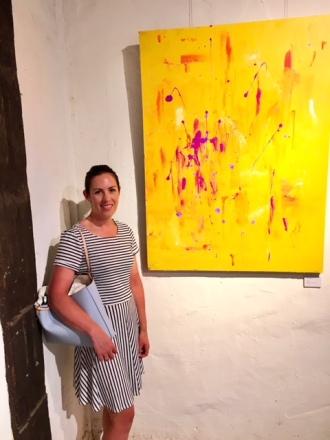 Stonefly (Nillumbik Artist Open Studio show, Montsalvat)